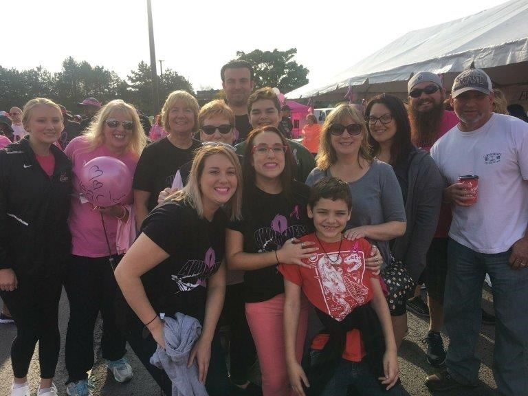 Doyle Security Systems Takes on the Making Strides Against Breast Cancer Walk