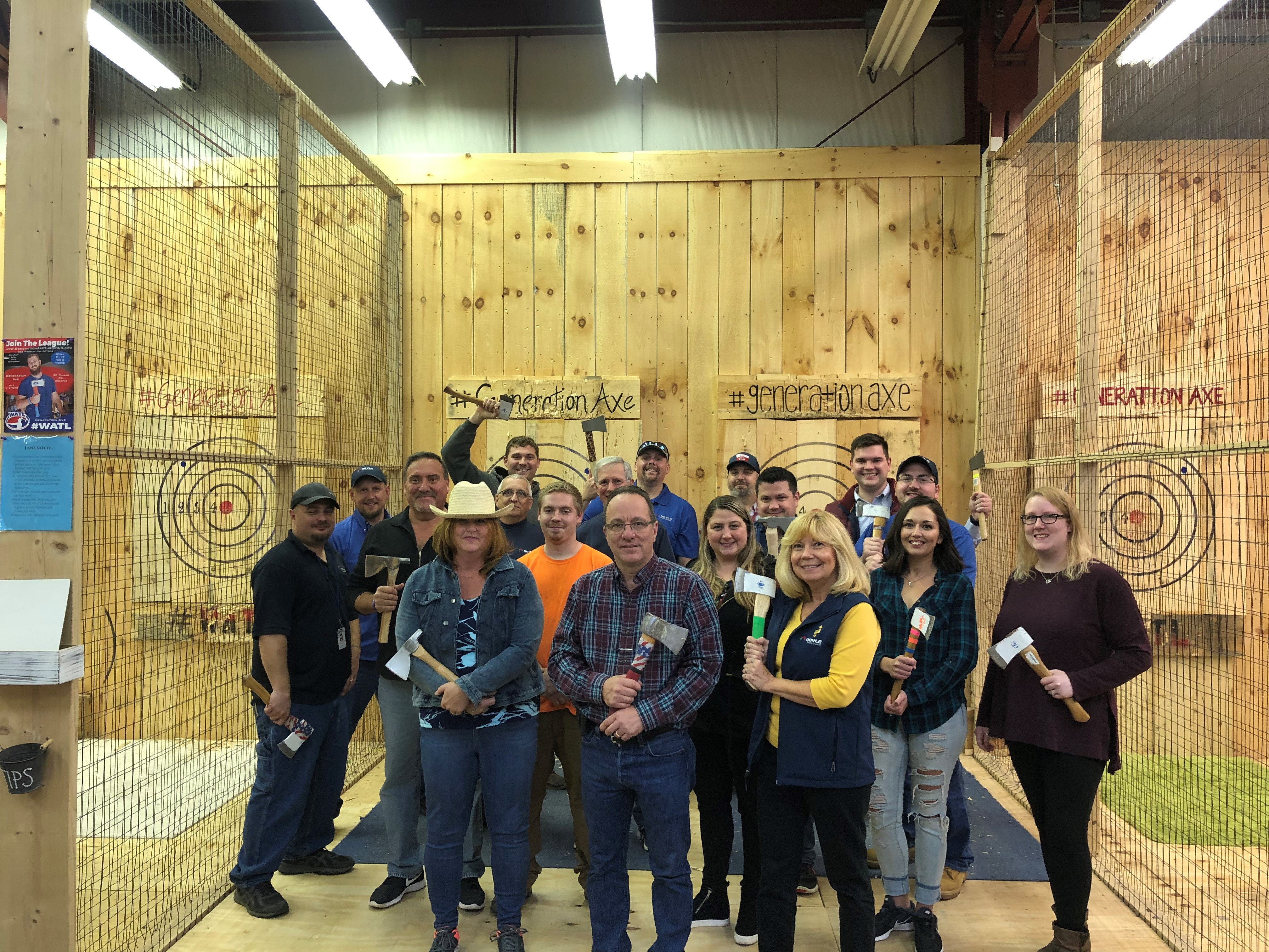 Albany Axe throwing